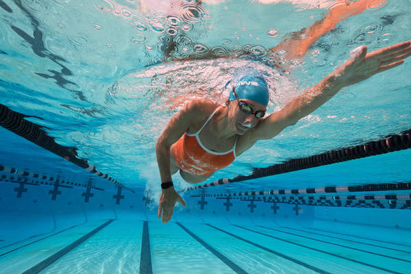 olympic triathlon distances and times